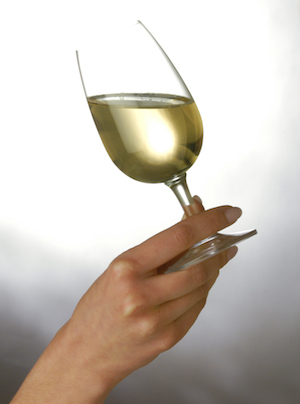 Mujer vino