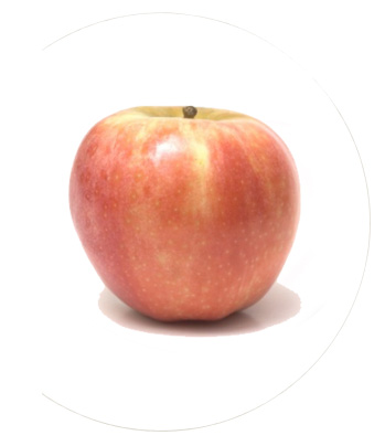 Tipos de manzanas - manzana fuji