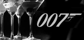 James Bond Martinis Collection