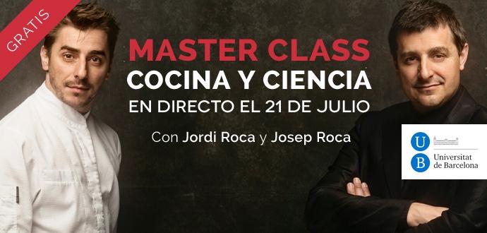 Jordi Roca Josep Roca master class