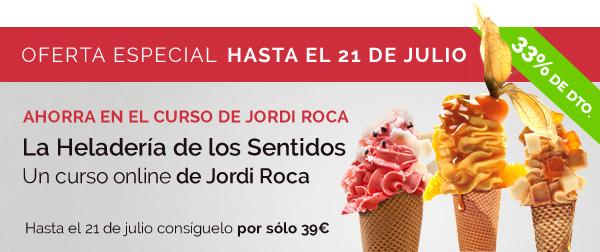 Jordi Roca curso helados