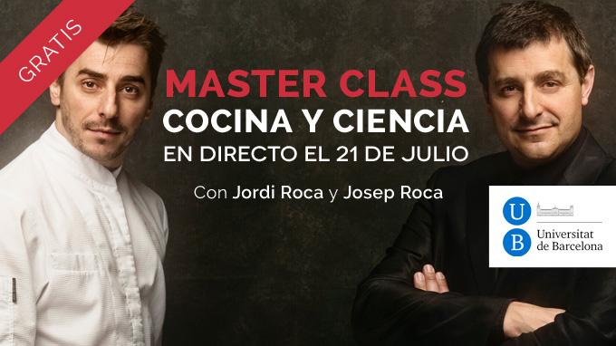 Jordi Roca, Josep Roca Master Class