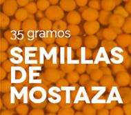 Semillas de mostaza especias