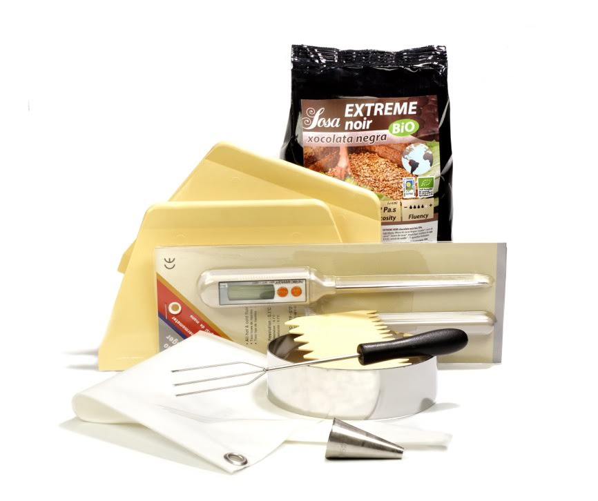 productos chocolate regalo curso online recetas kit completo