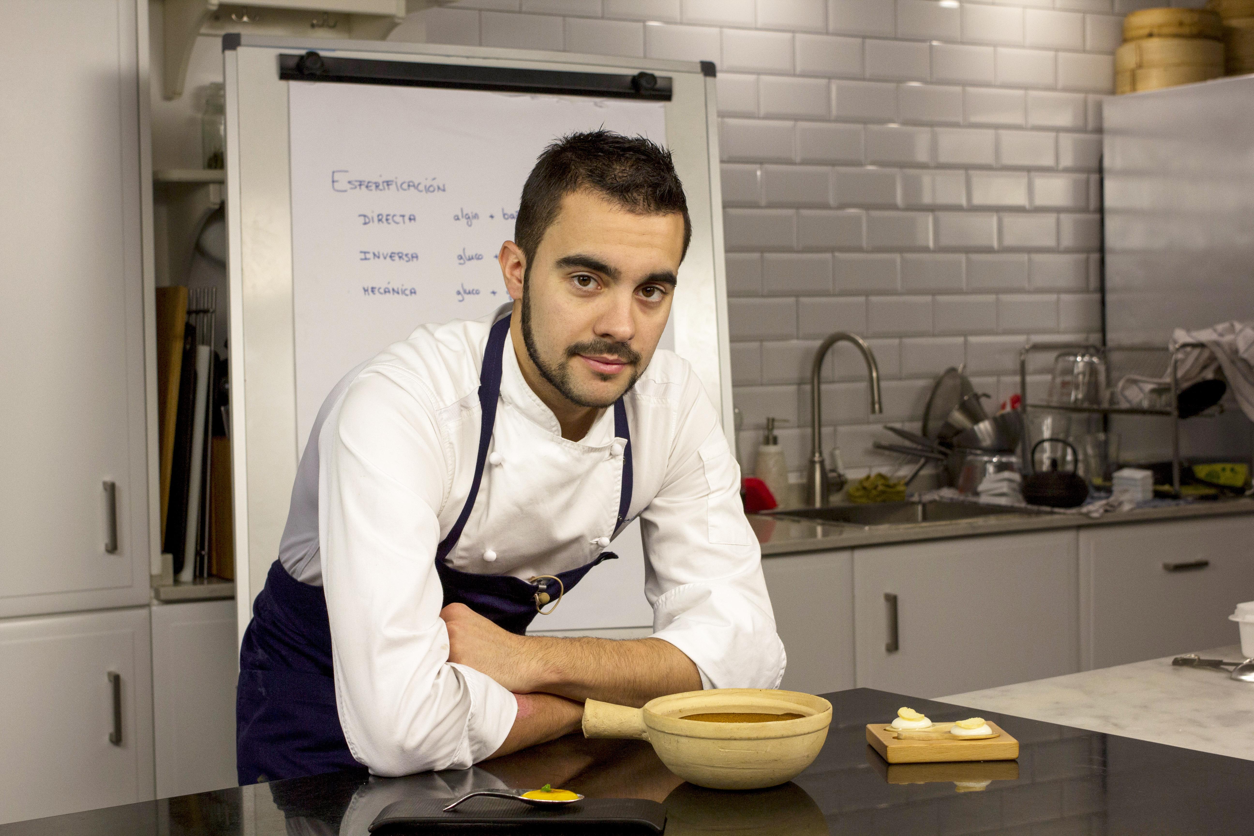David Gil tecnicas y texturas curso online cocina