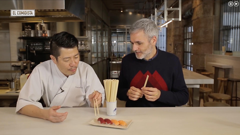 como comer bien el sushi, hideki matsuhisa, roy shunka, el comidista