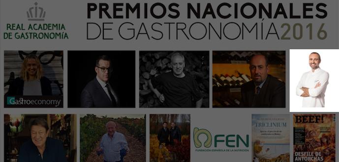 Rodrigo de la Calle Premio Gastronomico