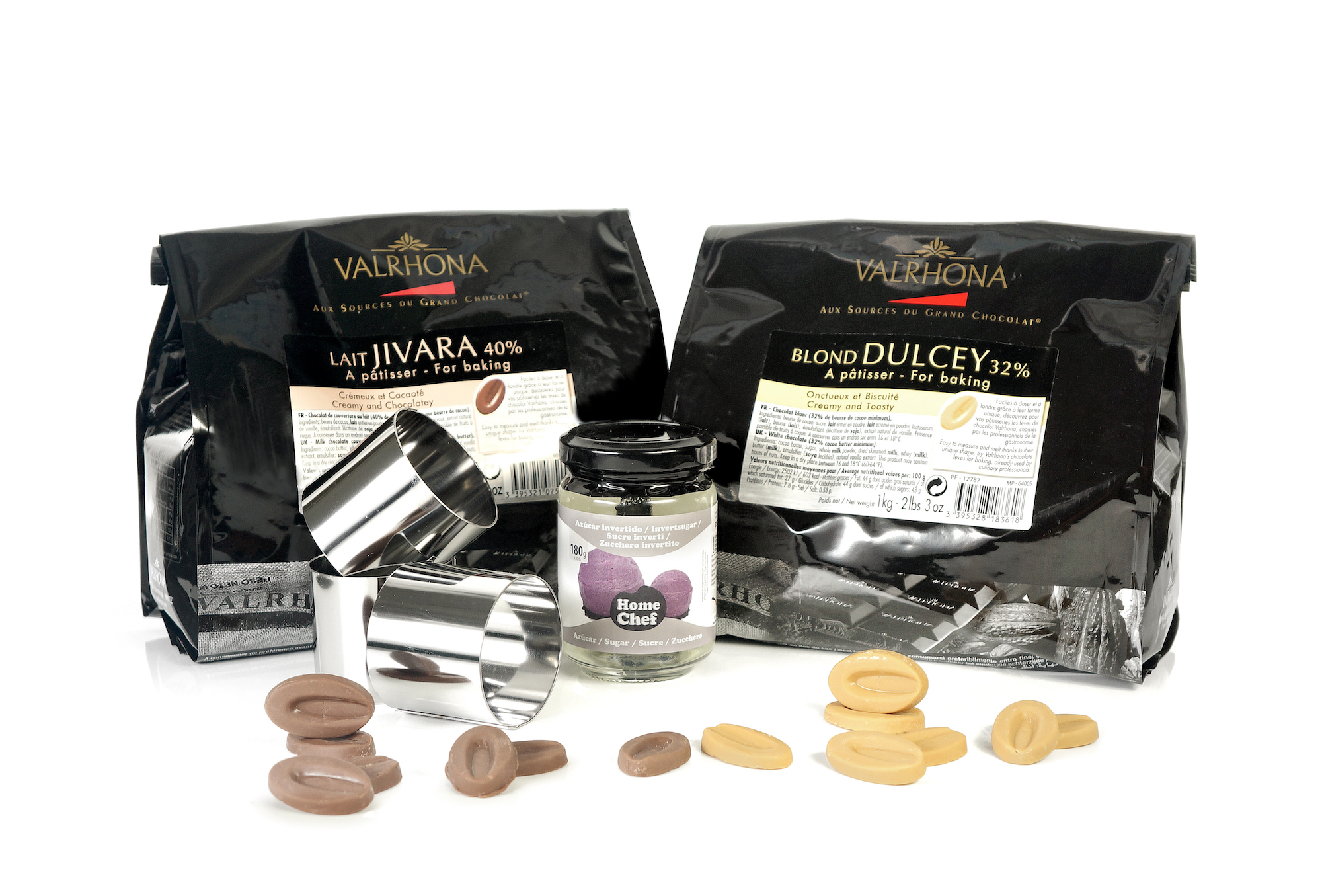 Kit de chocolates Valrhona